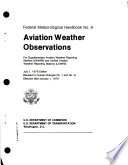 Aviation Weather Observations