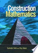 Construction Mathematics
