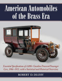 American Automobiles of the Brass Era [Pdf/ePub] eBook