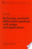 Reflecting Stochastic Differential Equations With Jumps And Applications Book PDF