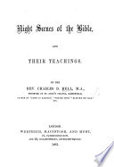 Night Scenes of the Bible  and Their Teachings Book