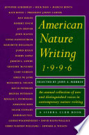 American Nature Writing 1996