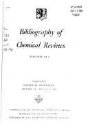 Bibliography of Chemical Reviews Book