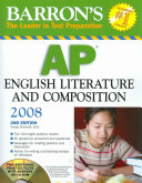 Barron s AP English Literature and Composition with CD ROM
