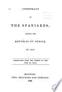 Conspiracy of the Spaniards  Against the Republic of Venice  in 1618 Book PDF