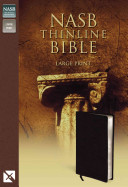 Thinline Bible NASB Large Print