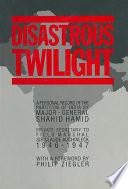 Disastrous Twilight