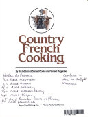 Country French Cooking