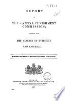 Report of the Capital Punishment Commission Pdf/ePub eBook