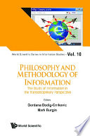 Philosophy And Methodology Of Information: The Study Of Information In The Transdisciplinary Perspective