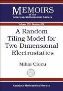 A Random Tiling Model for Two Dimensional Electrostatics