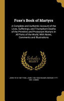 FOXES BK OF MARTYRS