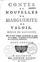 Contes et nouvelles de Marguerite de Valois, reine de Navarre