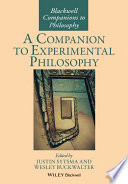 A Companion to Experimental Philosophy