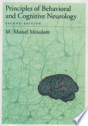 """""""Principles of Behavioral and Cognitive Neurology"""" by M.-Marsel Mesulam"""