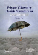 Private Voluntary Health Insurance in Development Book