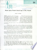 U.S.D.A. Forest Service research note PSW