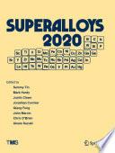 Superalloys 2020 Book