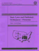 State laws and published ordinances, firearms