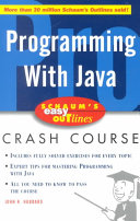 Schaum s Easy Outline of Programming with Java