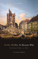To Do  to Die  to Reason Why