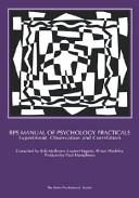 BPS Manual of Psychology Practicals