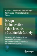 Design for Innovative Value Towards a Sustainable Society Pdf/ePub eBook