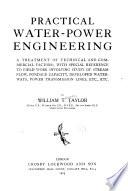 Practical water-power engineering
