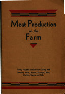 Meat Production on the Farm