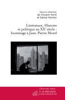 Littérature, Histoire et politique au XXe siècle [Pdf/ePub] eBook