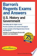 Barron's Regents Exams and Answers  : U.S. History and Government