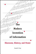 The Modern Invention of Information
