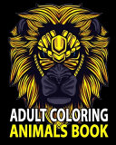 Adult Coloring Animals Book
