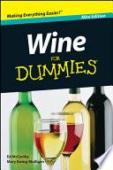 Wine For Dummies  Mini Edition Book