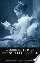 A Short History of French Literature Book