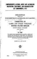 Comprehensive Alcohol Abuse And Alcoholism Prevention Treatment And Rehabilitation Act Amendments 1973