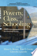 Poverty  Class  and Schooling