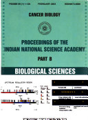 Proceedings Of The Indian National Science Academy Book PDF