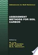 Assessment Methods for Soil Carbon Book