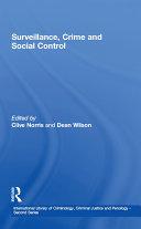 Surveillance, Crime and Social Control Pdf
