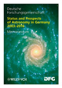 Status and Perspectives of Astronomy in Germany