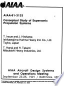 AIAA Aircraft Design Systems and Operations Meeting: 91-3133 - 91-3194