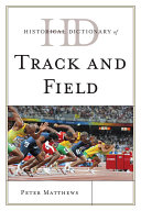 Historical Dictionary of Track and Field Pdf/ePub eBook
