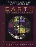 Earth  Portrait of a Planet Art Notebook