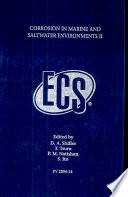 Corrosion in Marine and Saltwater Environments II