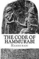 The Code of Hammurabi Book