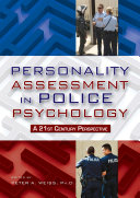 Personality Assessment In Police Psychology Book PDF