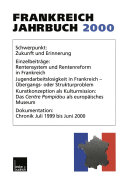 Pdf Frankreich-Jahrbuch 2000 Telecharger