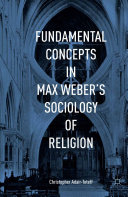 Pdf Fundamental Concepts in Max Weber's Sociology of Religion Telecharger