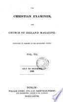 The Christian Examiner And Church Of Ireland Magazine